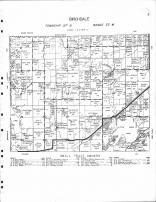 Birchdale Township 2, Little Birch Lake, Ward Springs, Deer Lake, pauley Lake, Todd County 1956 Published by Thomas O. Nelson Co